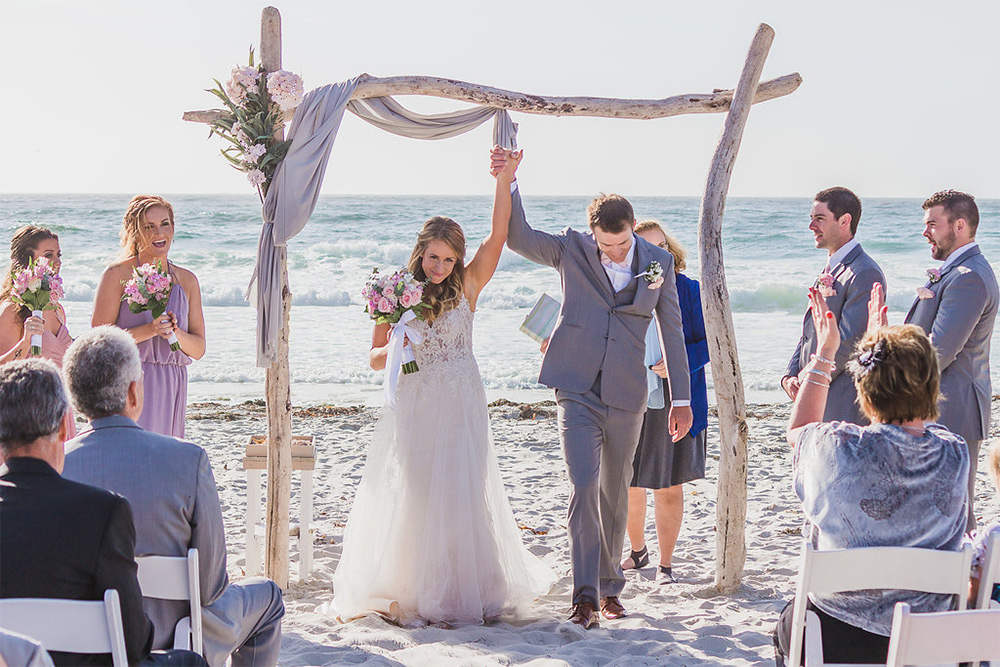 Asilomar Beach Weddings