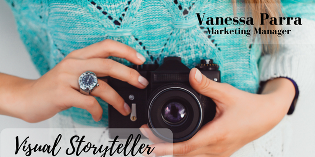Vanessa Parra, Visual Storyteller
