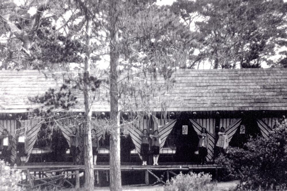 Asilomar Tent Inspection in 1917