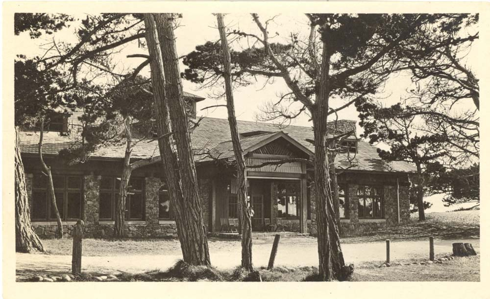 Crocker Dining Hall circa 1920