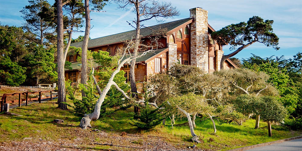 Merrill Hall Exterior at Asilomar Hotel & Conference Grounds