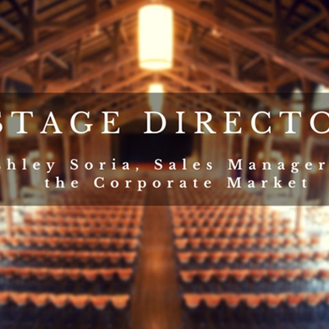 Ashley Soria, Stage Director & Sales Manager