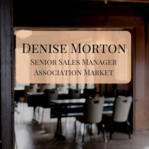 Denise Morton, Senior Sales Manager