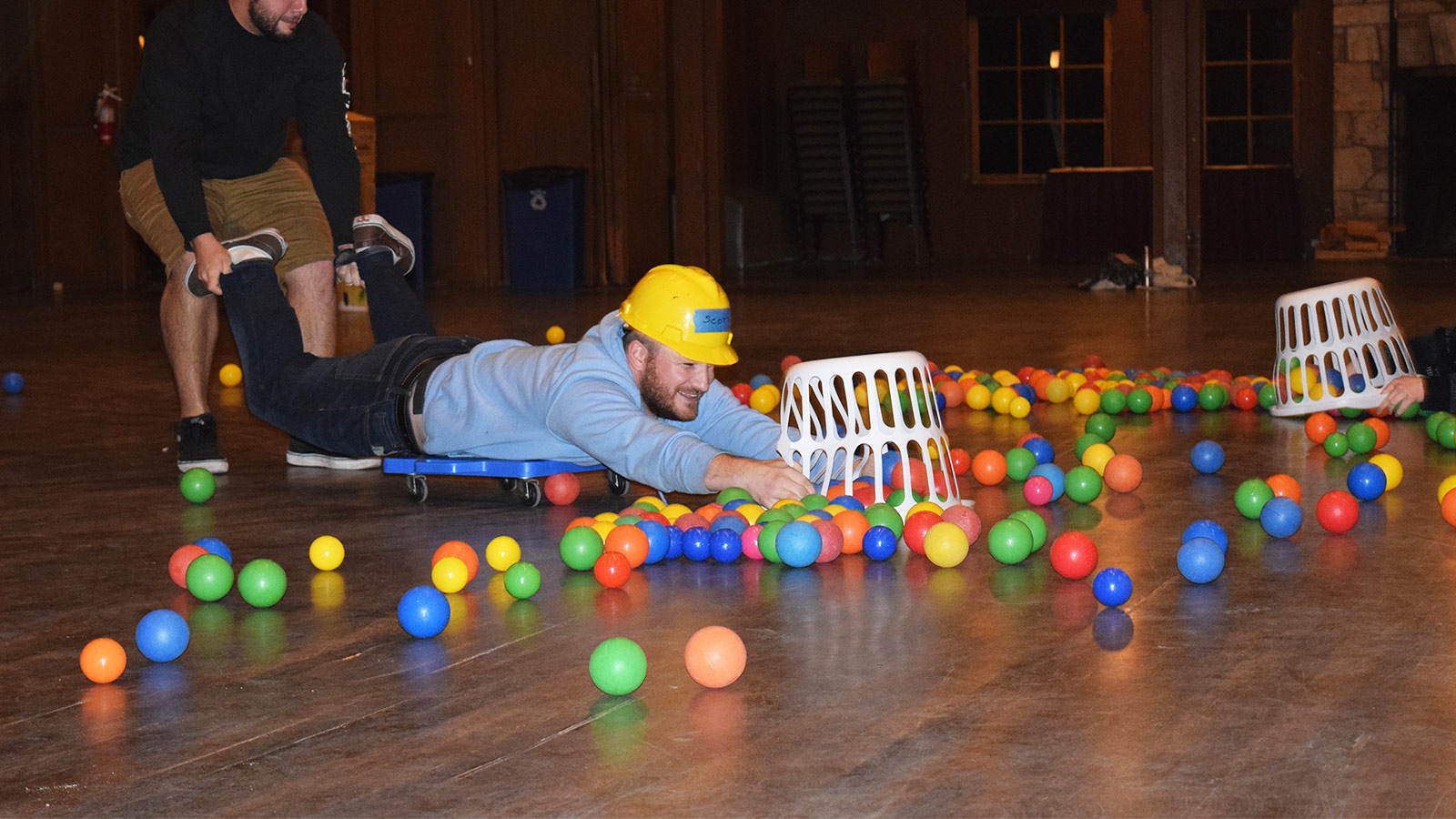 Get creative with your next team building game
